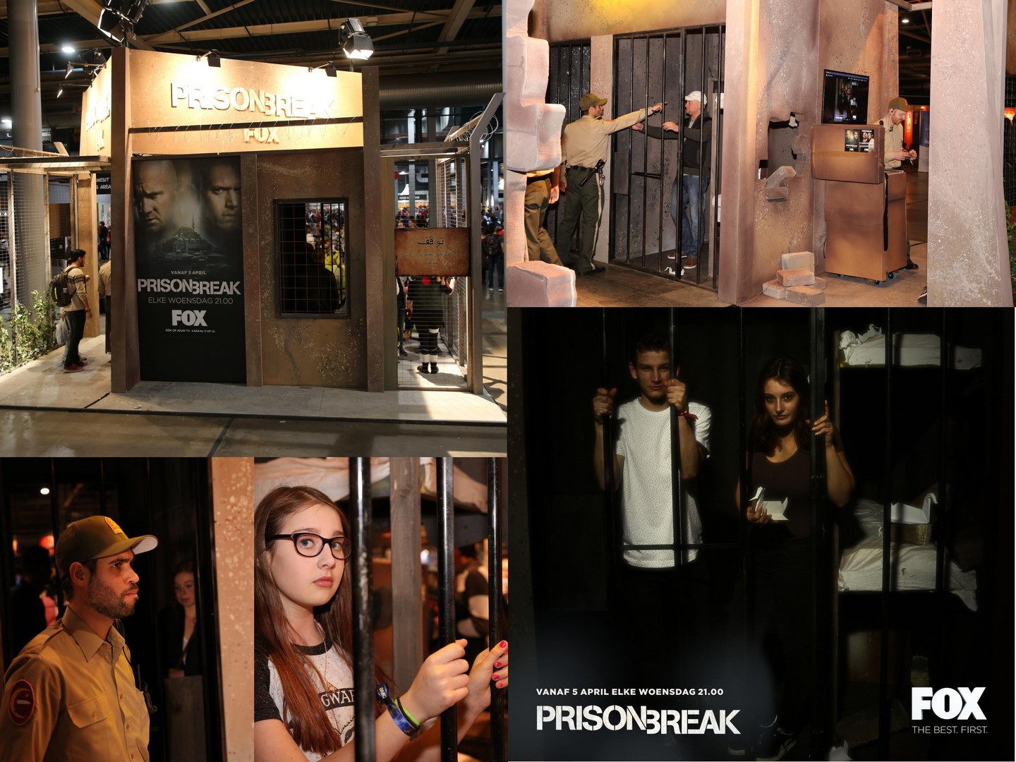 Prison Break foto activatie